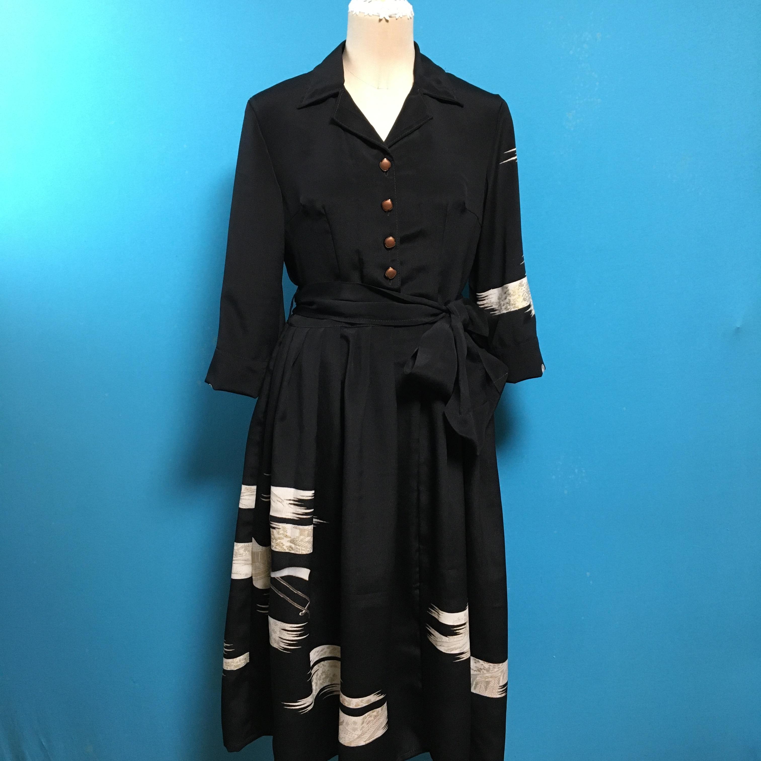 Vintage black 50年代風*US 8