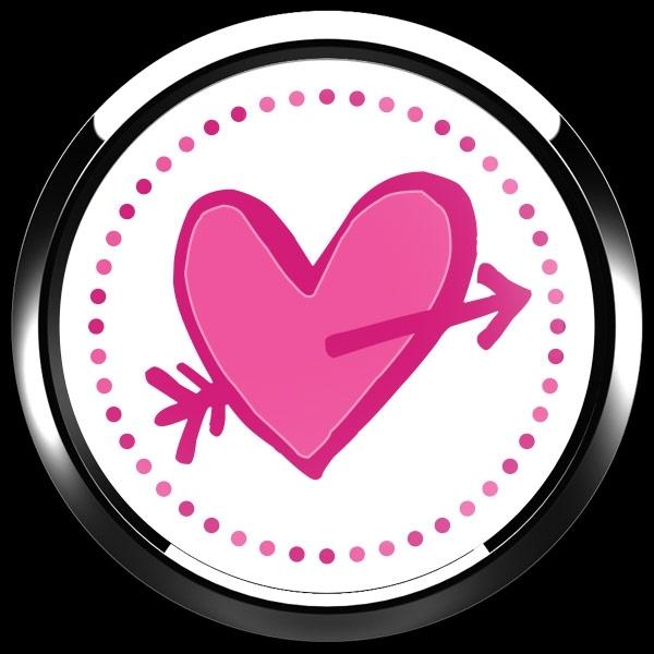 ゴーバッジ(ドーム)(CD0905 - Seasonal CUPID HEART) - 画像3