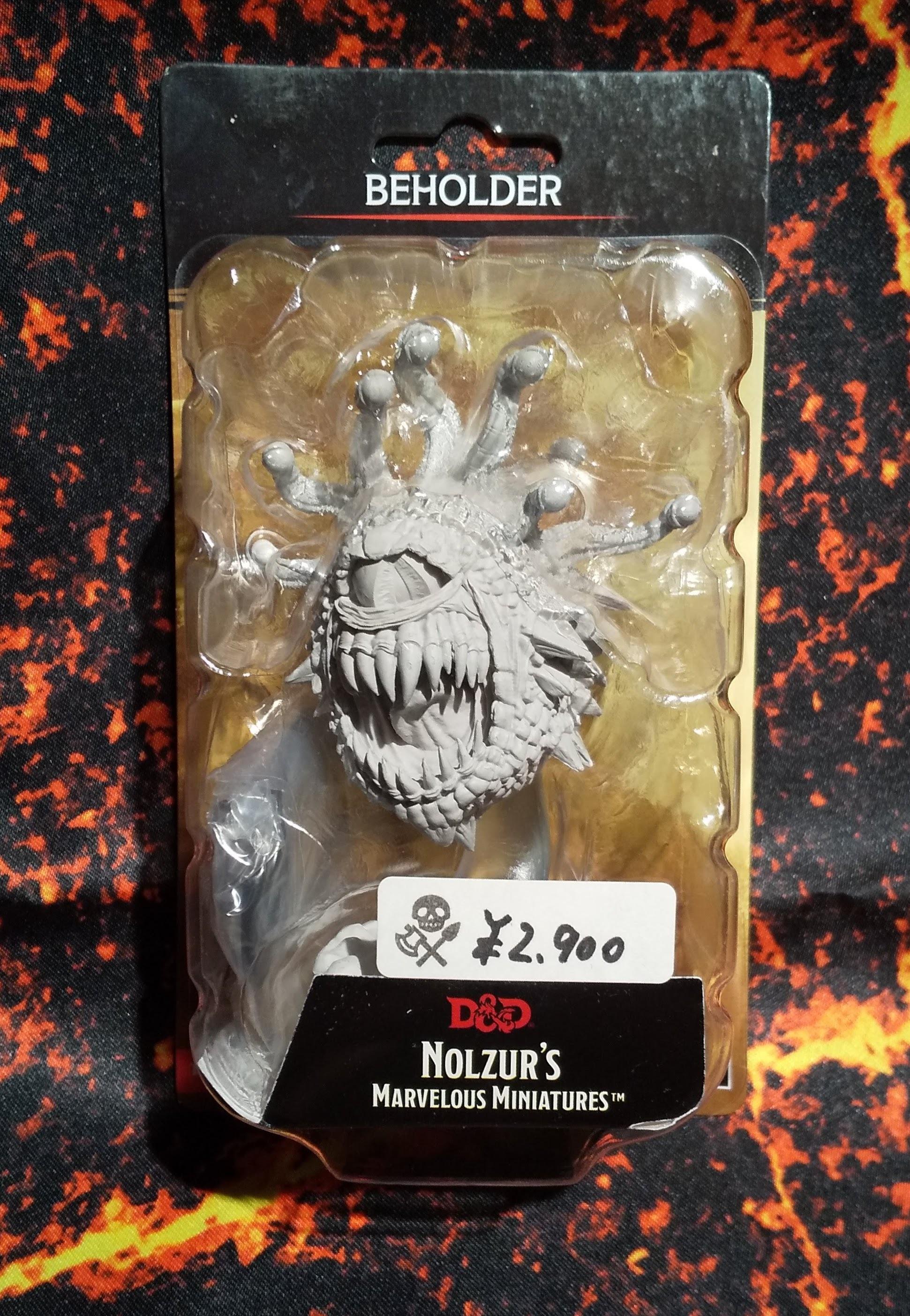 Beholder(D&Dオフィシャルミニチュア「Nolzur's Marvelous Unpainted Miniatures」シリーズ)