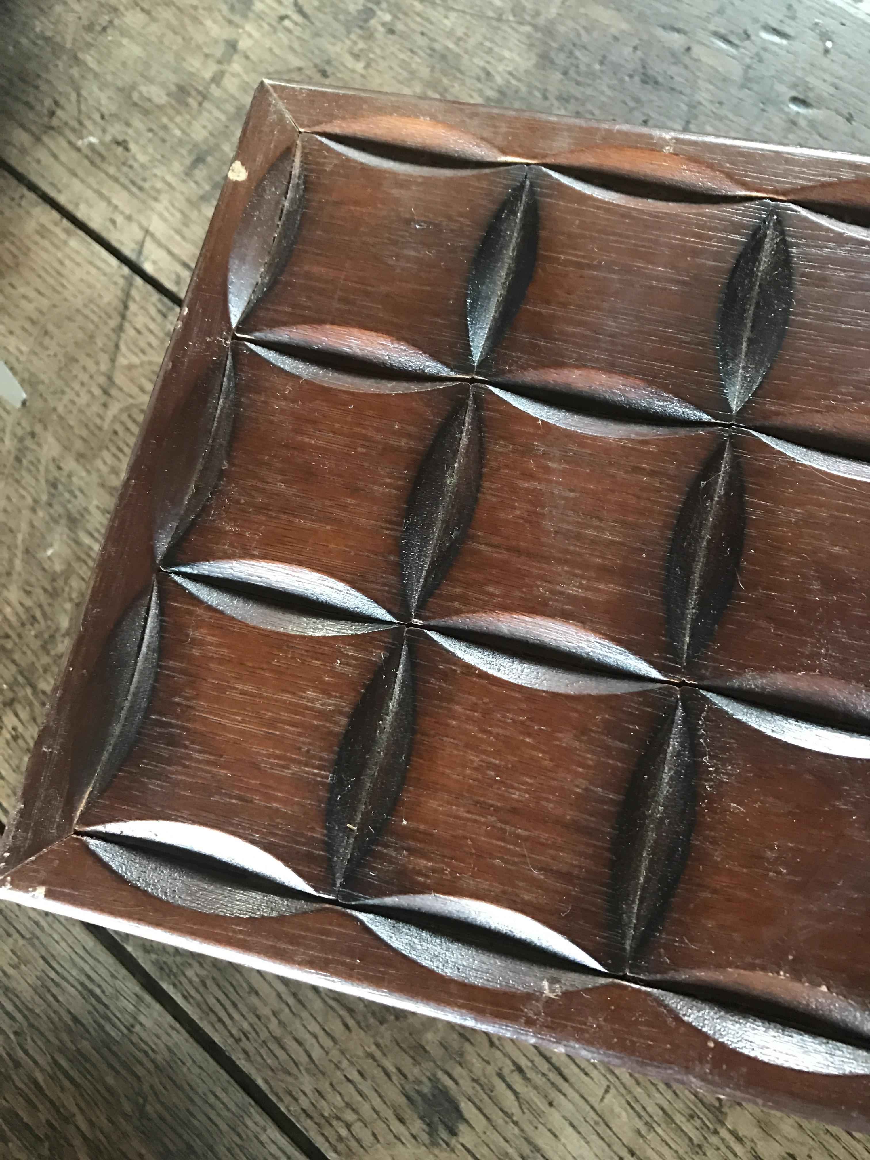 レトロ 味のある木箱