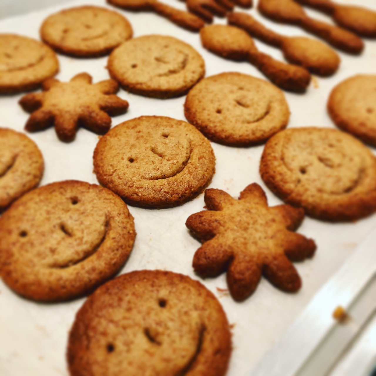 ざくざくスマイルジンジャークッキー