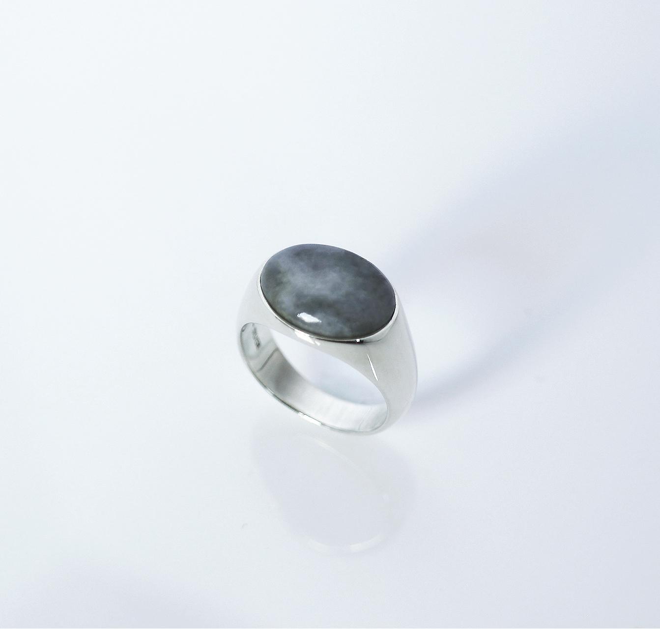 HISUI 'EN'  / Ring (Grey)