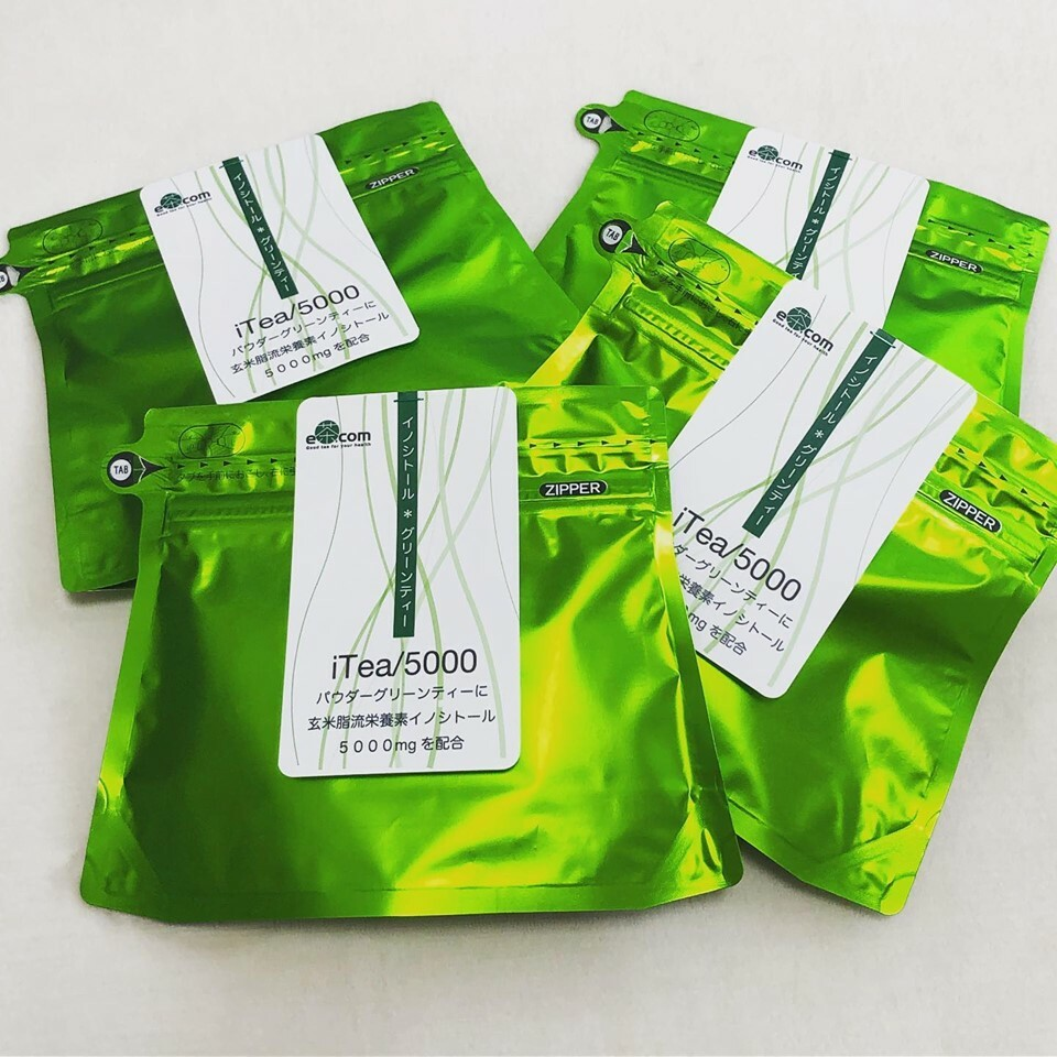 【ミトコンドリア活性を高め代謝を良くしたい】イノシトールグリーンティー/iTea5000