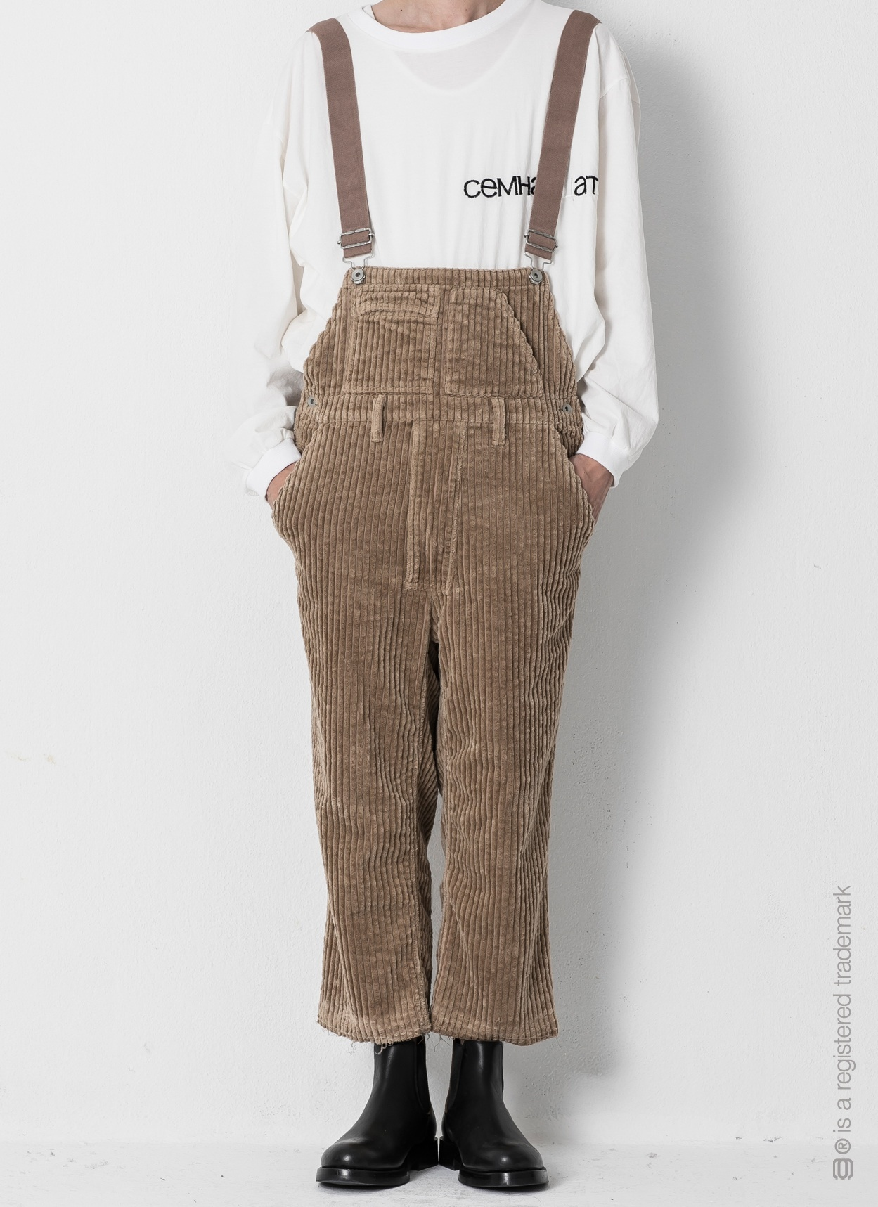 """【AG by EXPERIMENT】OVERALL """"j.c"""""""