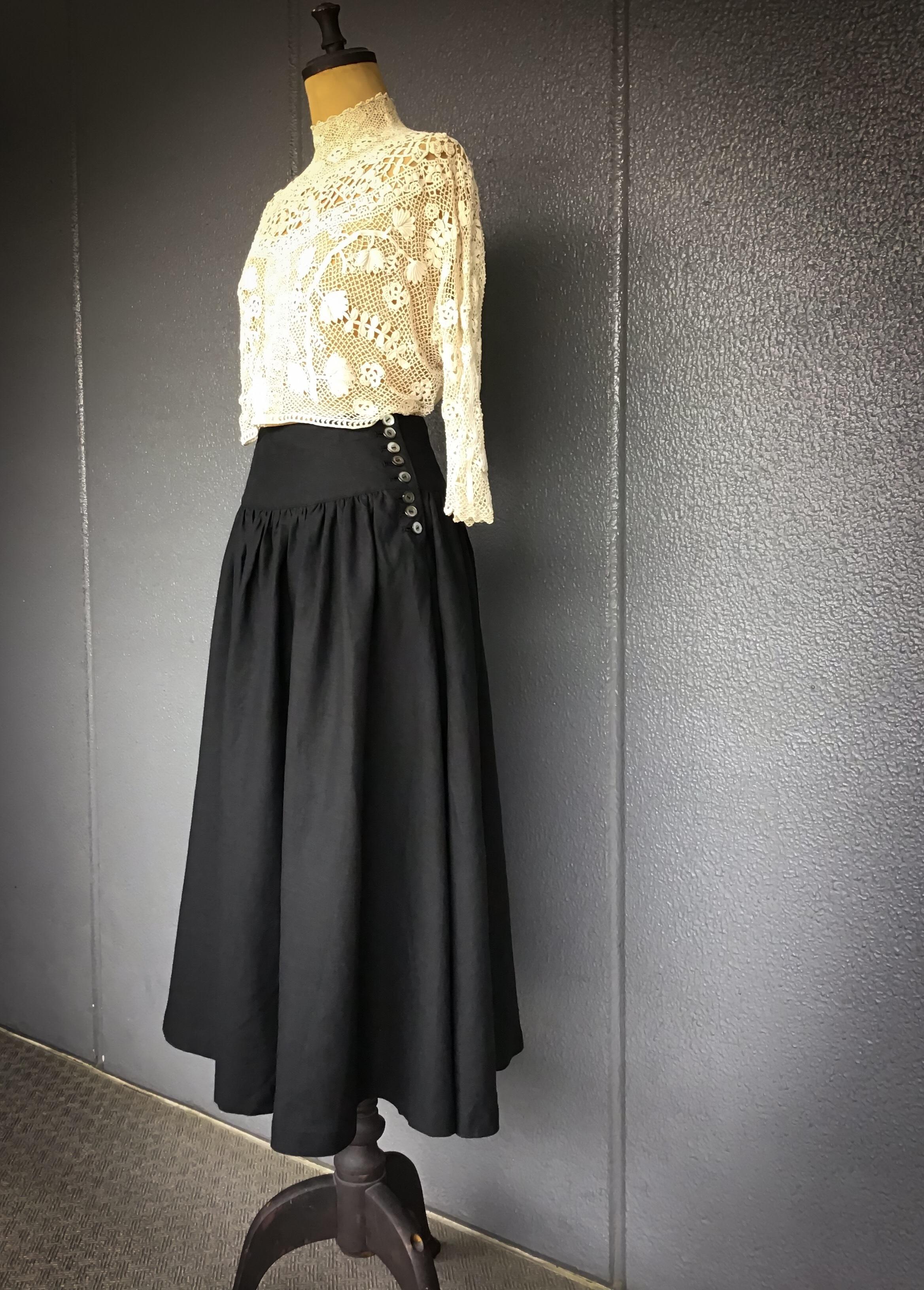 3wey  リネン garçonne  look 《 noir 》