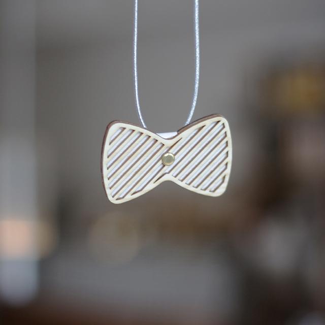 ribbon tie & brooch / リボン蝶ネクタイ&ブローチ