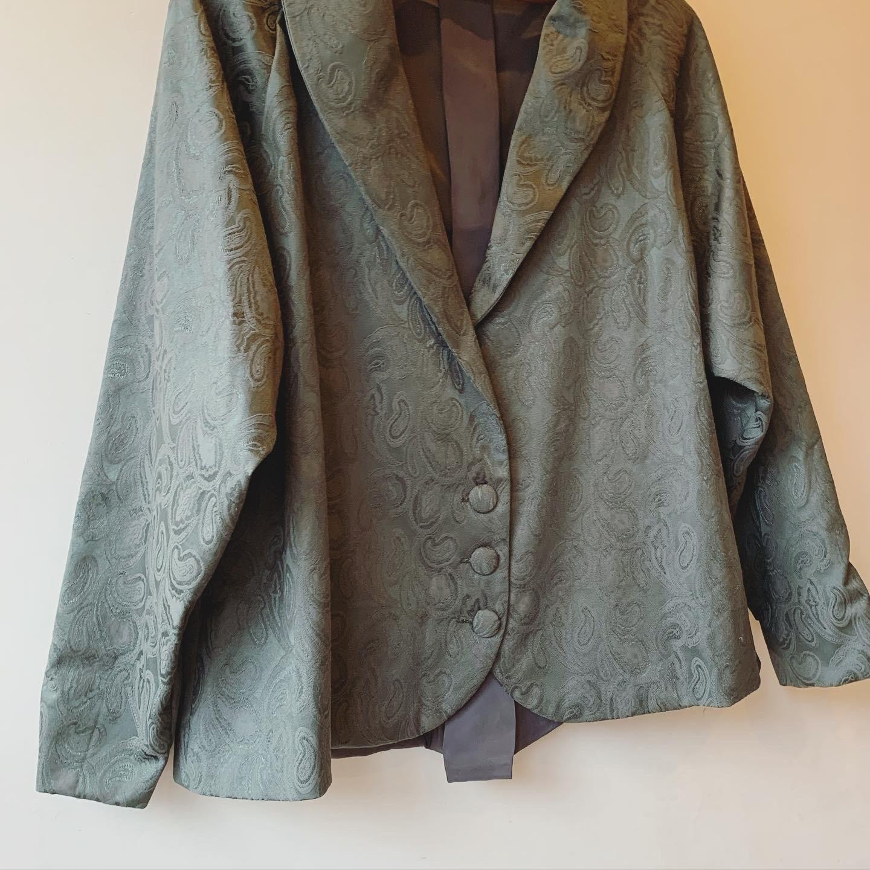 vintage paisley design jacket