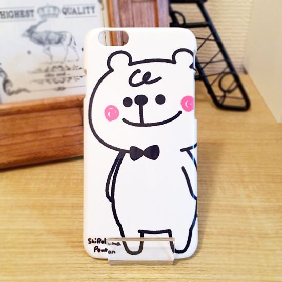 iPhone ハードケース │ 白くまペンタン