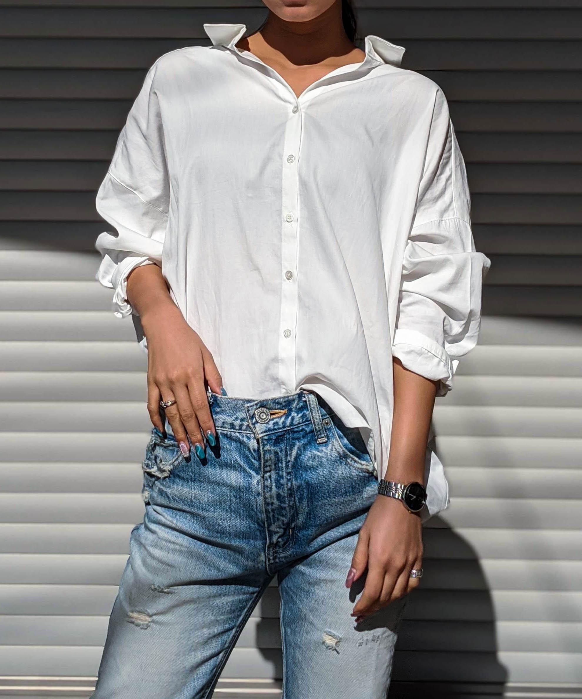 Open loose shirt