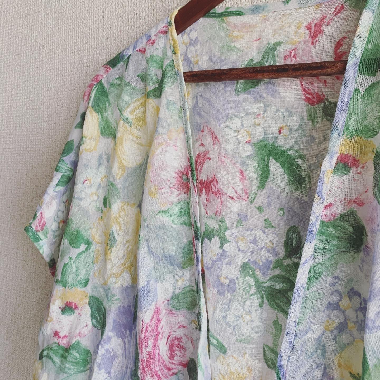 【SALE】vintage gauze onepiece set