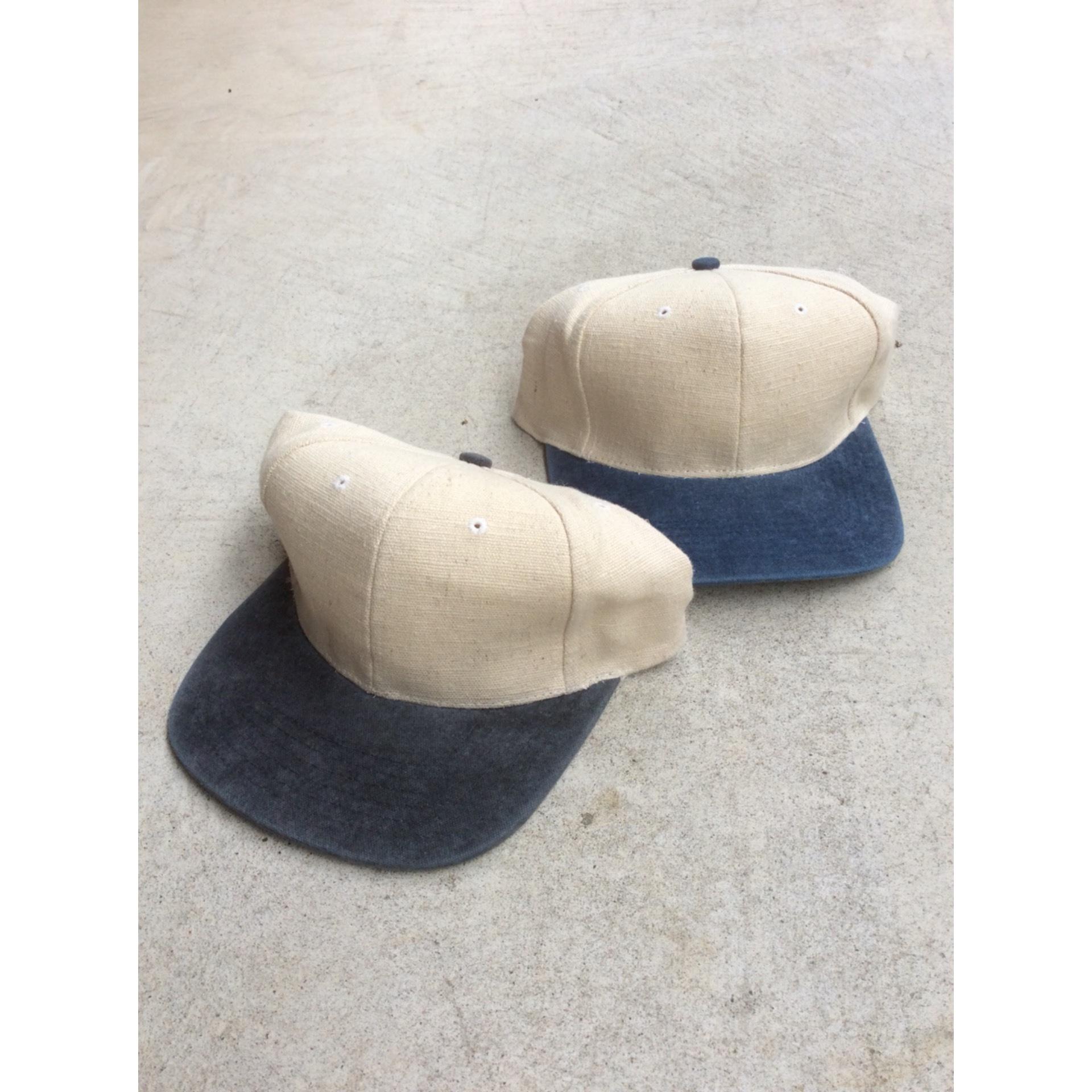 Vintage deadstock linen cap