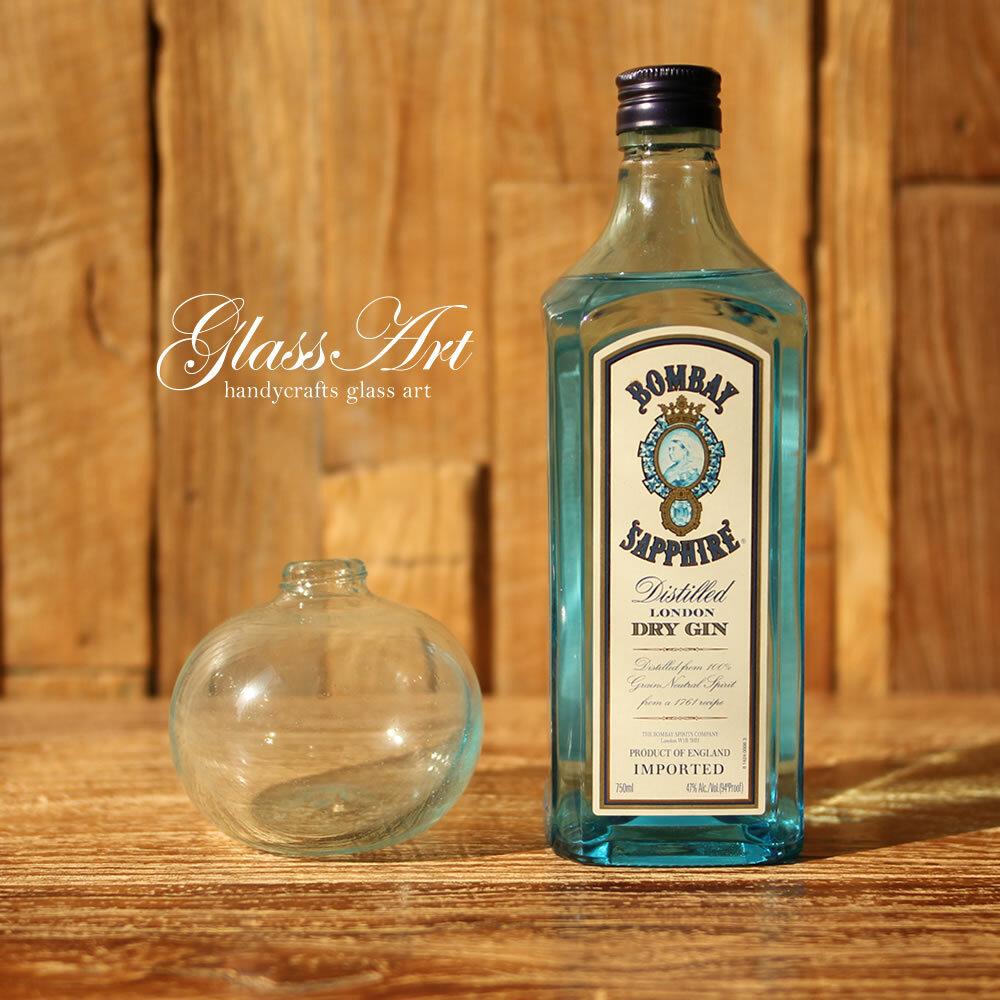 ■当日出荷■吹きガラスの花瓶 球体L GL07 アソート フラワーベース