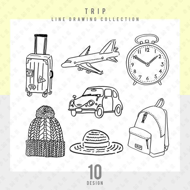 【シンプル】TRIP 10点セット