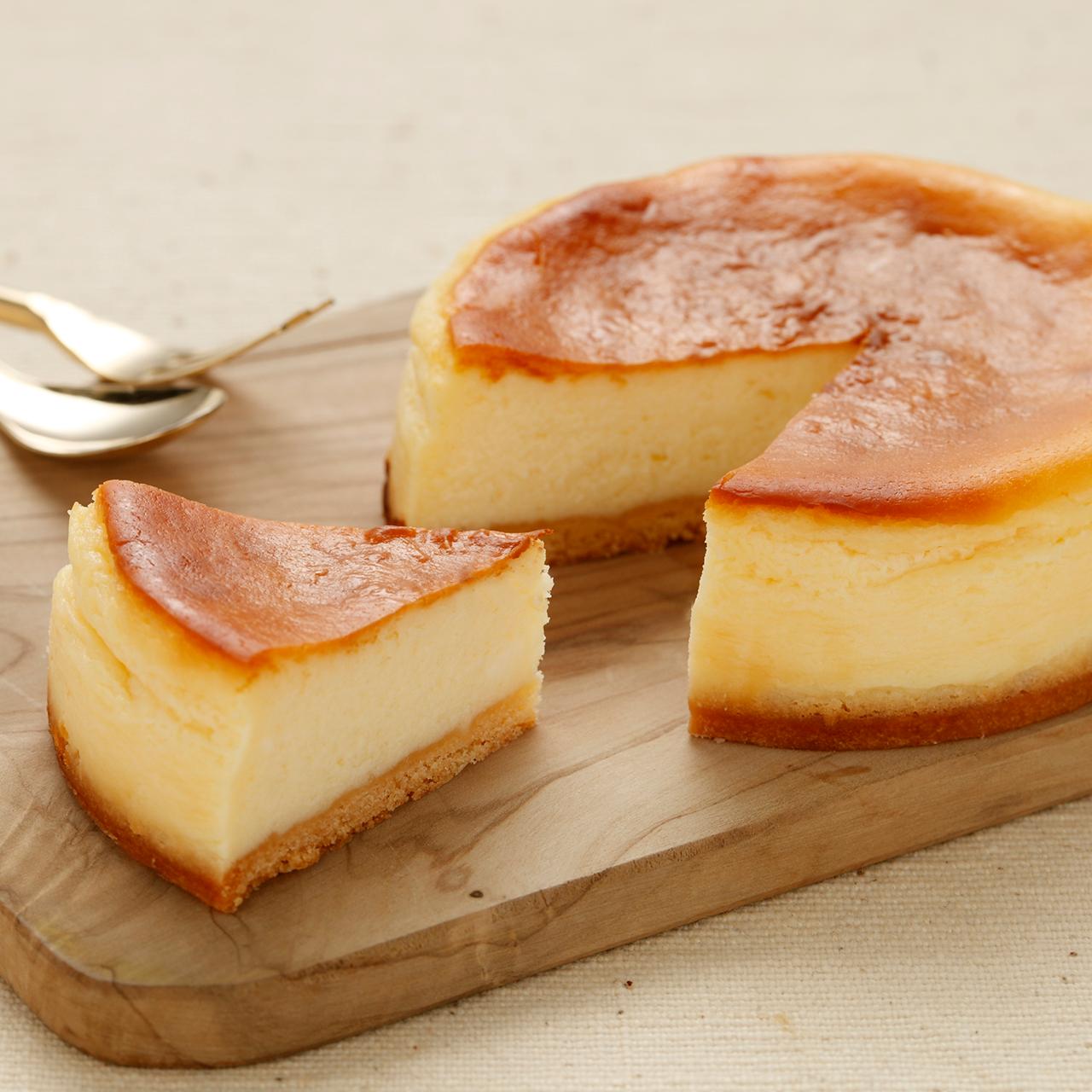 4号:プレーンなベイクチーズ