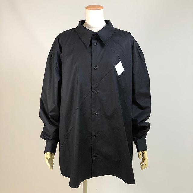 四角切り替えシャツ/KUD24-H511