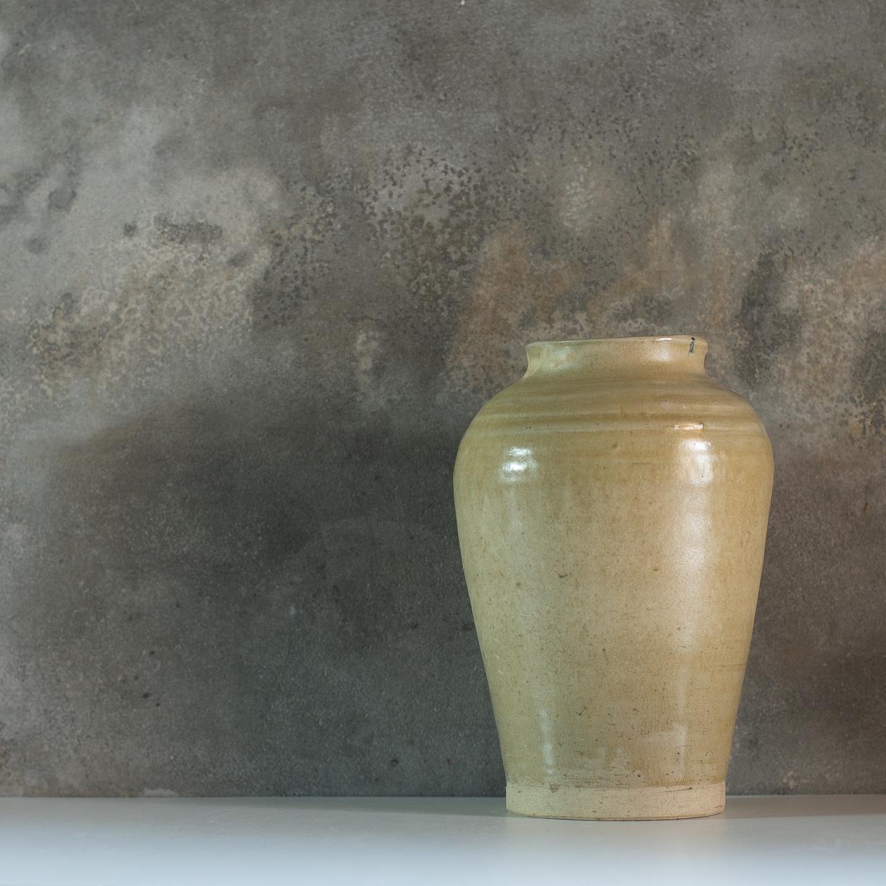 虫明焼  壺
