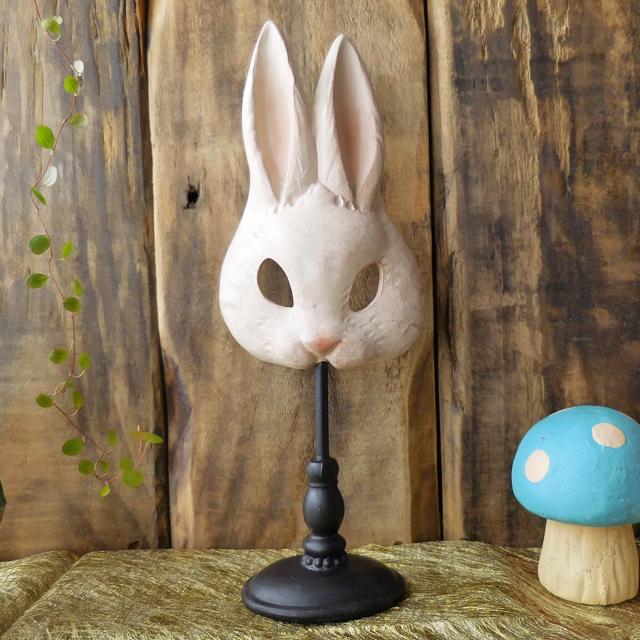 (83) コベントガーデン ラビットマスク スタンドタイプ ウサギ 仮面