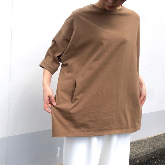 【siro de labonte 】- R033203 - コットンBIG Tシャツ