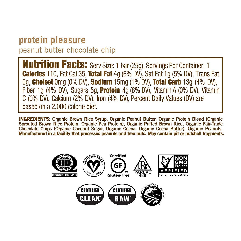 GoMacro オーガニック ヴィーガン プロテインバー<ピーナッツバター+チョコチップ>24本セット