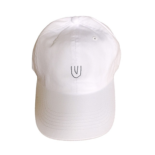 """""""Symbol -white-"""" Baseball Low Cap"""