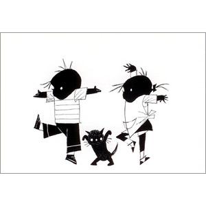 ポストカード ダンス(FO_PO_10132)