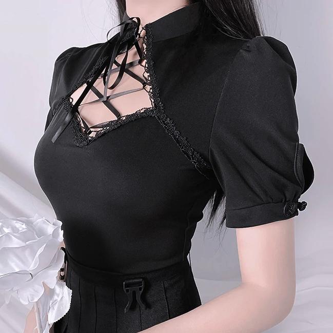 Gothic china tops