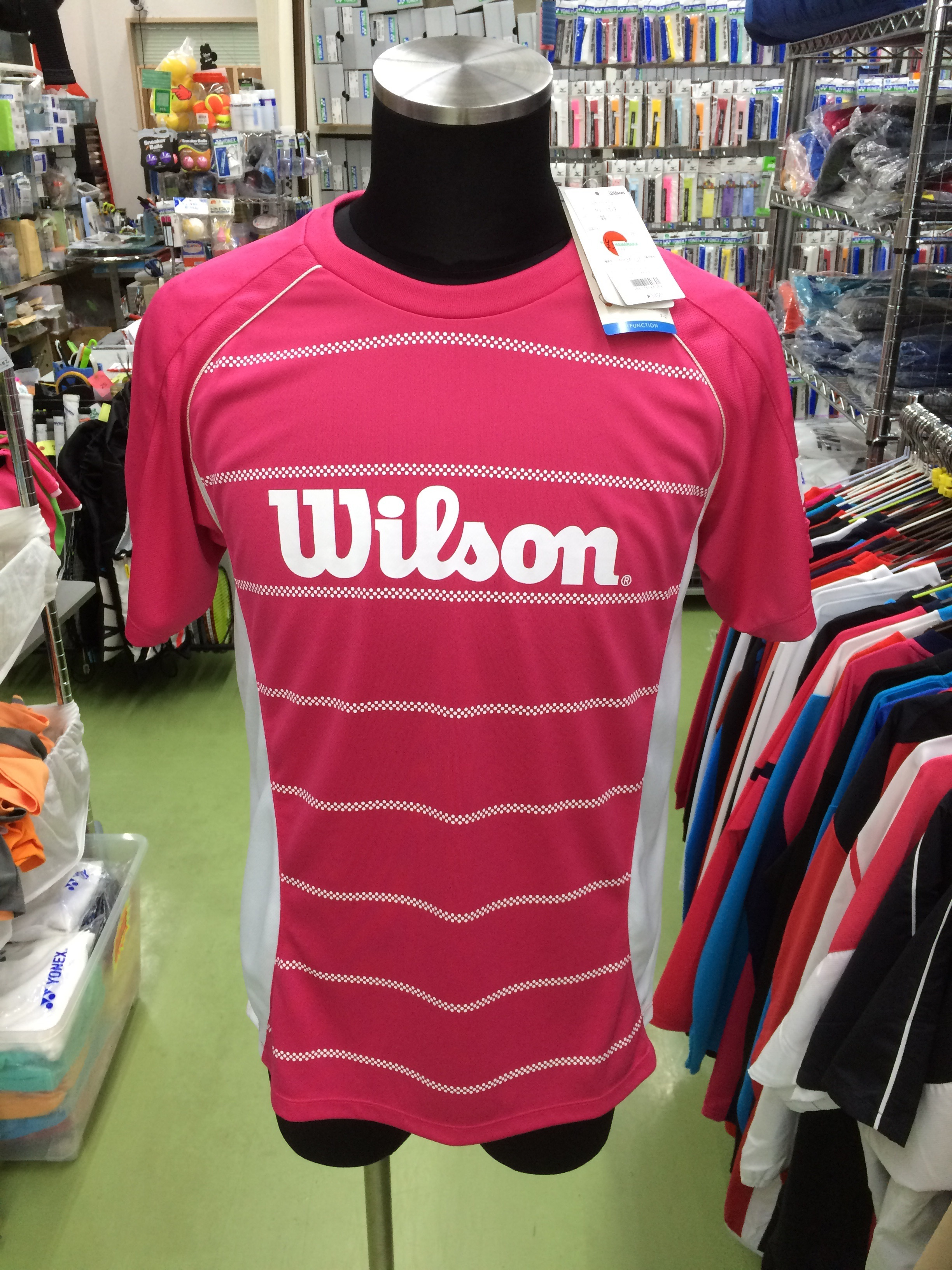 ウィルソン Tシャツ WRJ4404MG - 画像1