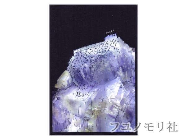 ポストカード - フローライト迷路 - フユノモリ社 - no19-fuy-01