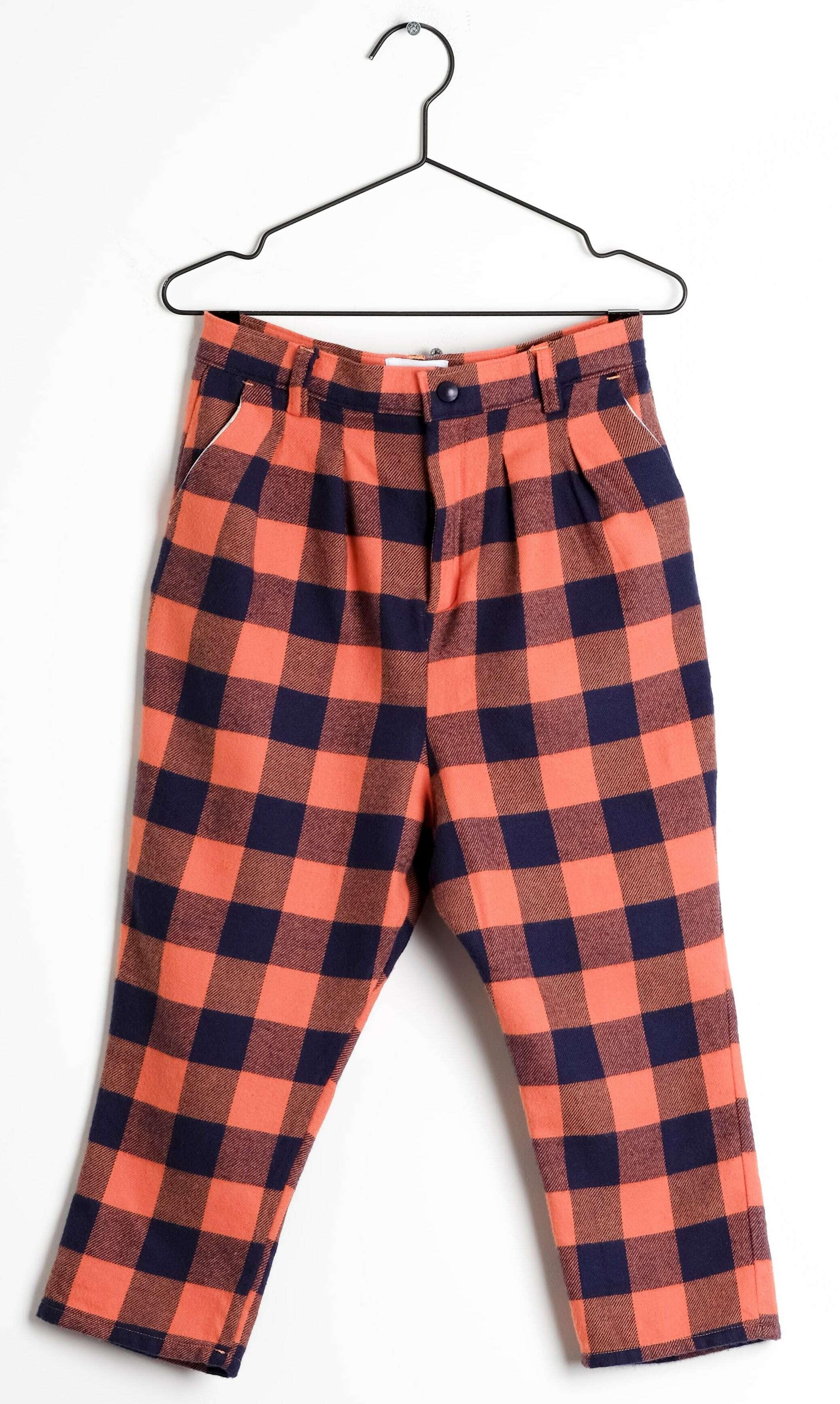 《WOLF & RITA 2019AW》ANDRE trousers / Xadrez