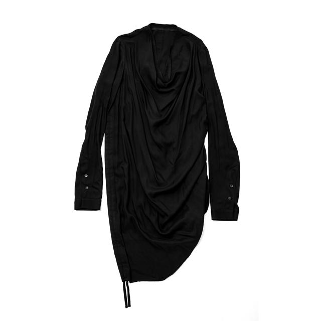 587SHM4-BLACK / シャーリングシャツ