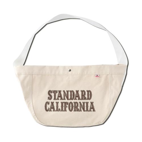 STANDARD CALIFORNIA #SD Made in USA News Paper Bag White