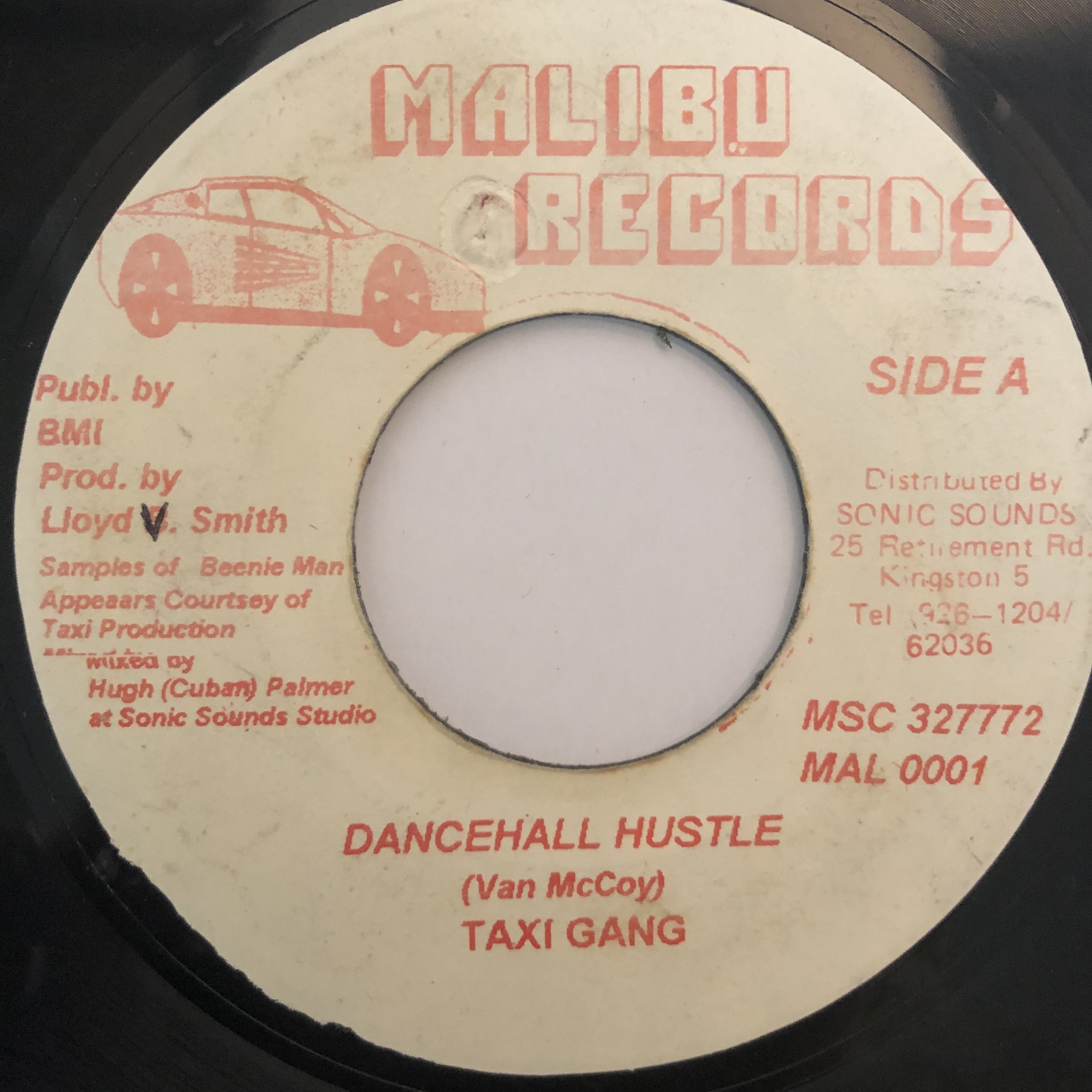 Taxi Gang(タクシーギャング) - Dancehall Hustle【7-20268】