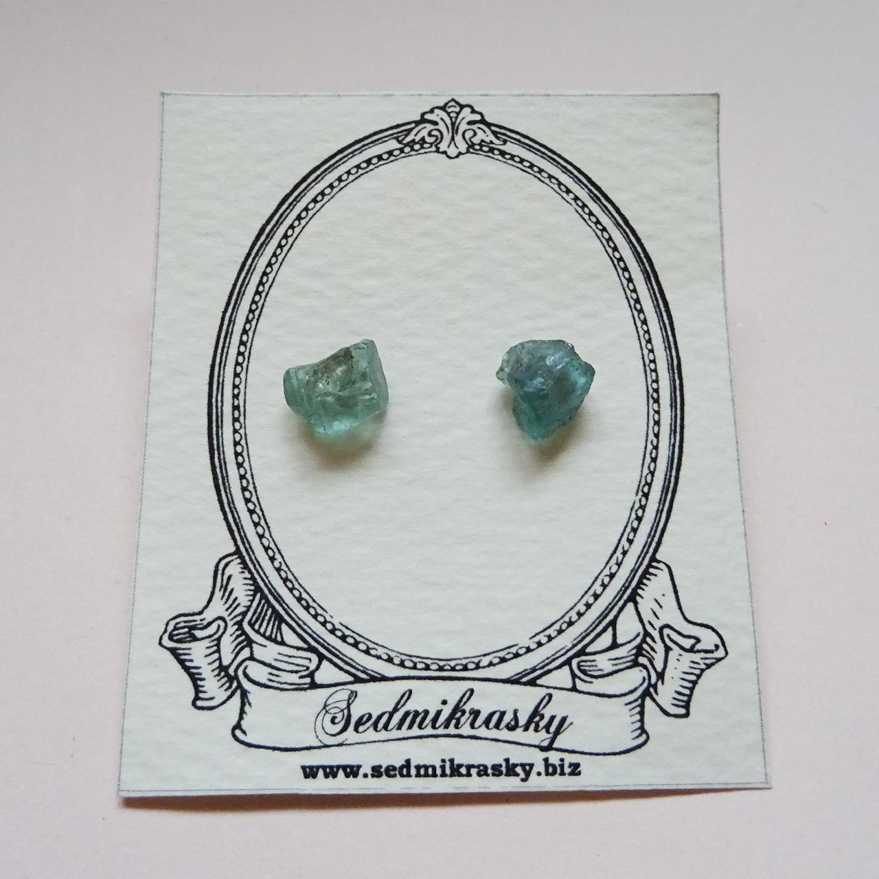 Sedmikrasky 鉱物パールピアス / アパタイト K10