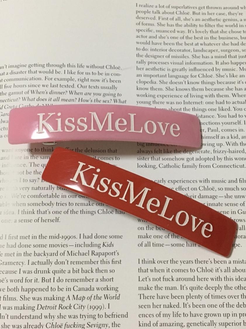 【KissMeLove】KissMeLove barrette