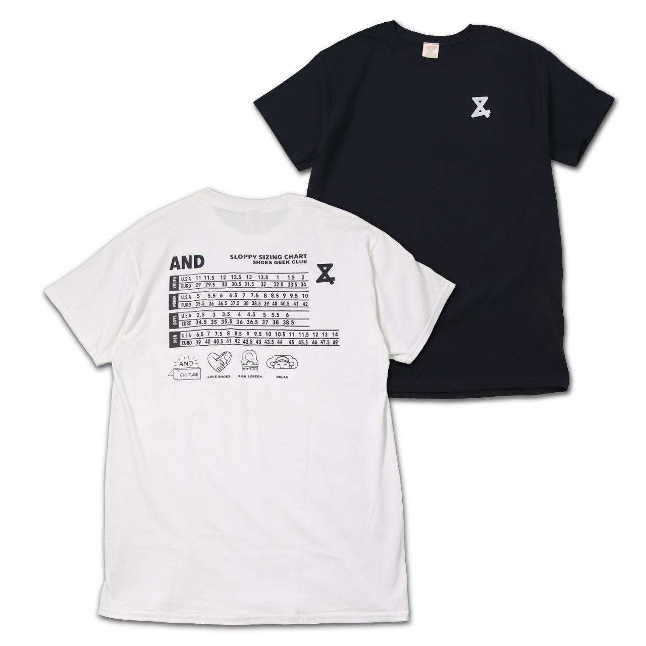 SIZE CHART Tshirts