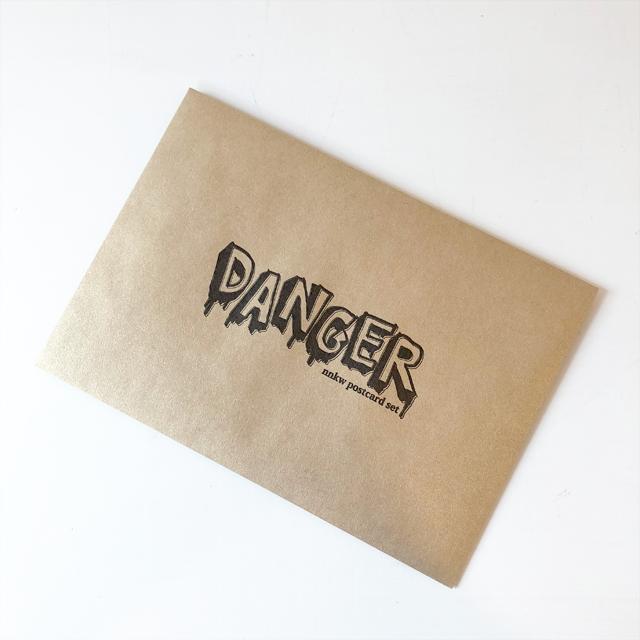 【ナナカワ】ポストカードセット「DANGER」