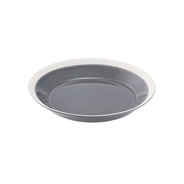 yumiko iihoshi porcelain Dishes プレート180 fog gray