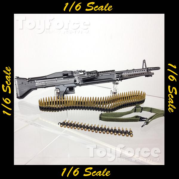 【02880】 1/6 DAMToys ユニバーサルソルジャー サコー M60 フルセット