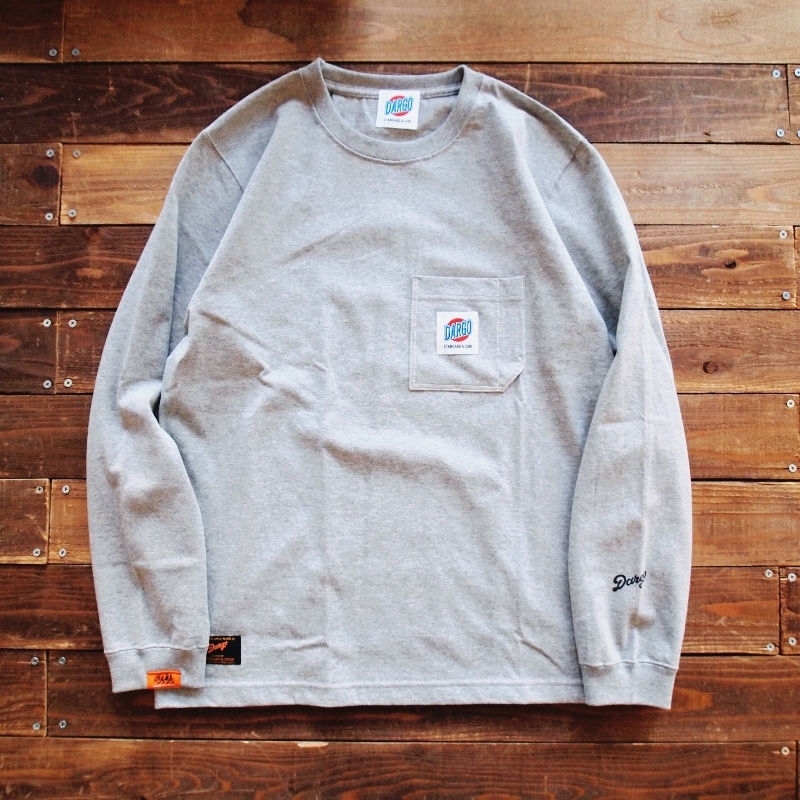 【DARGO】Working Pocket Long T-shirt (HEATHER GRAY)