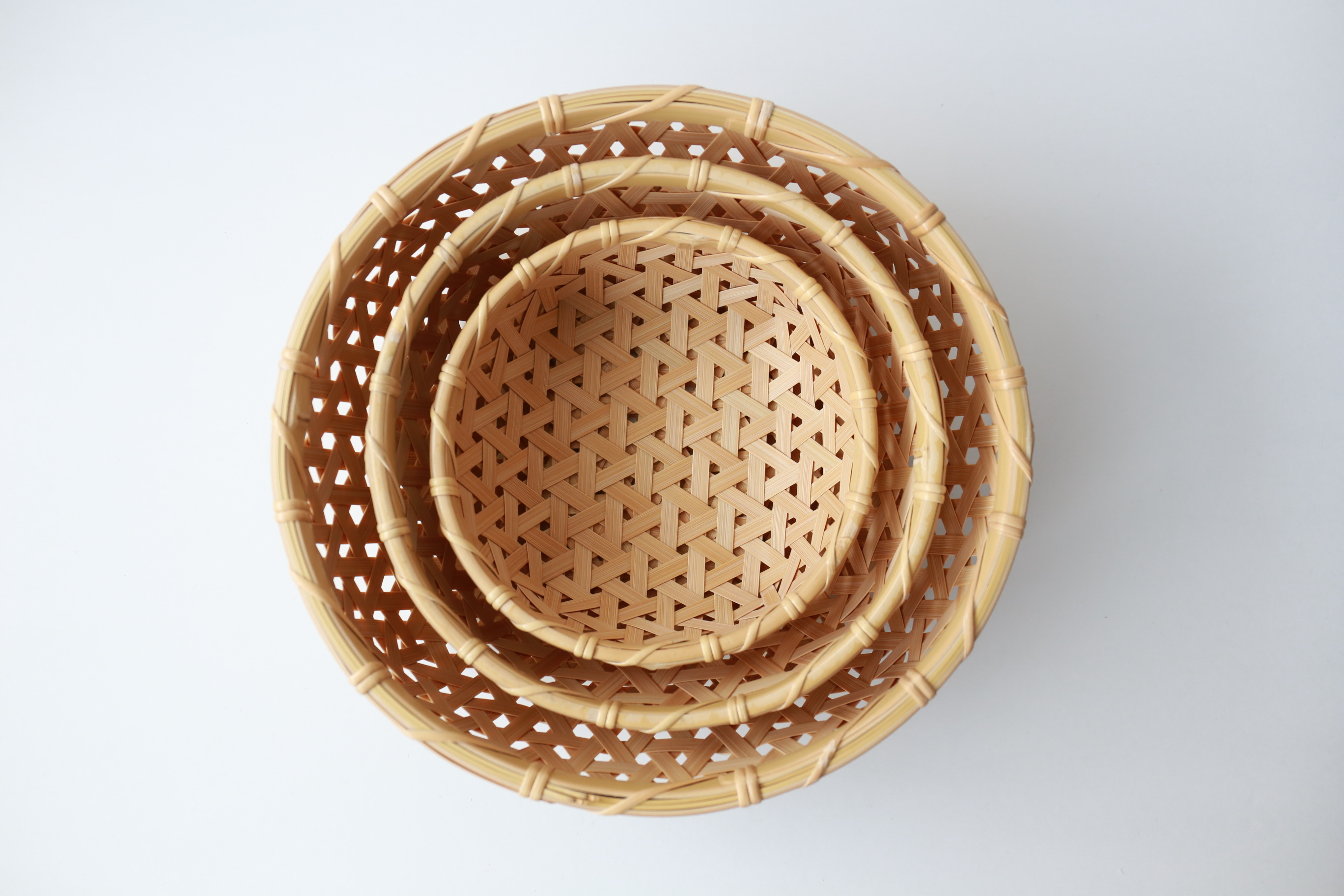 けはれ竹工房 果菜盛りカゴ 中