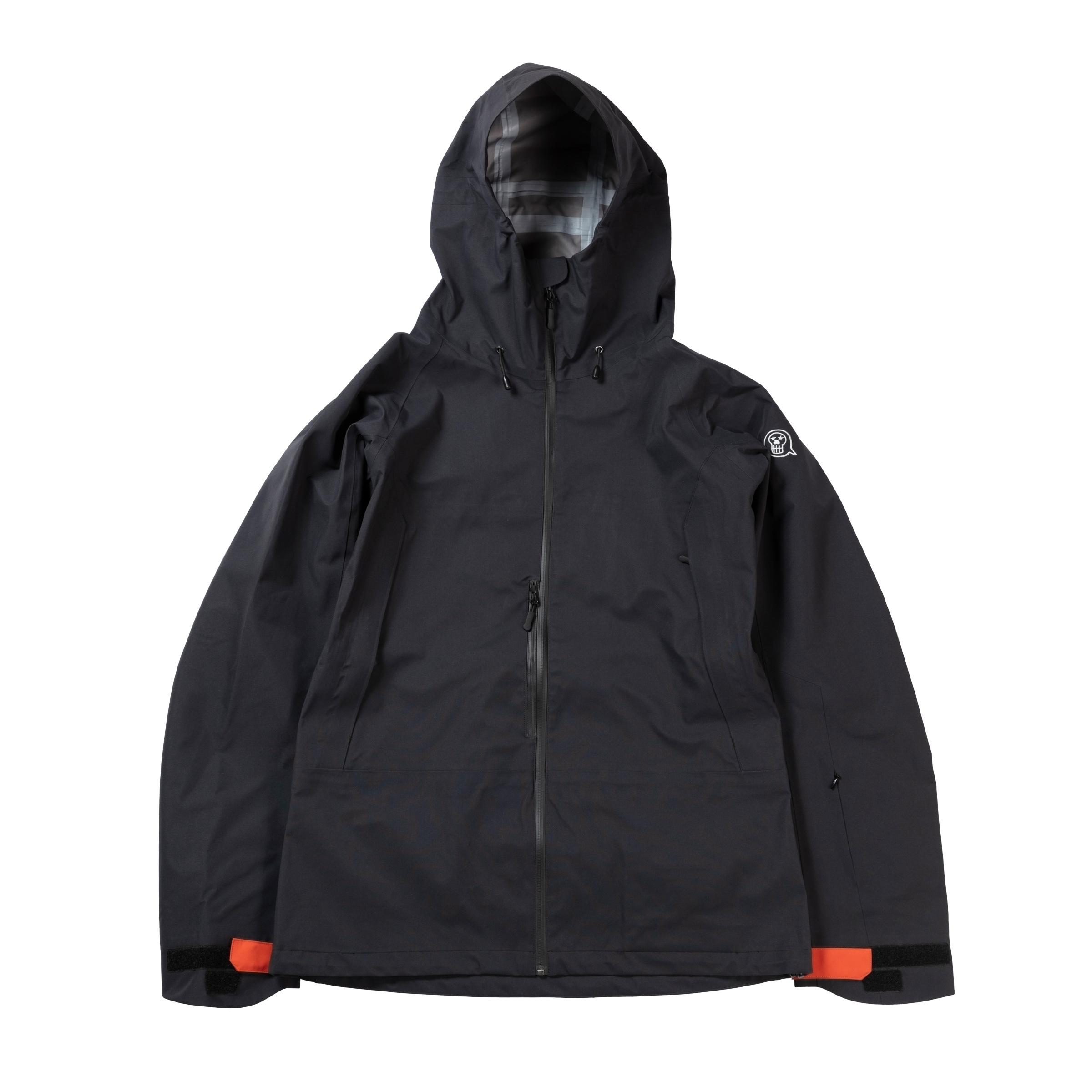 2021unfudge snow wear // CLOUD JACKET // BLACK / 10月中旬発送