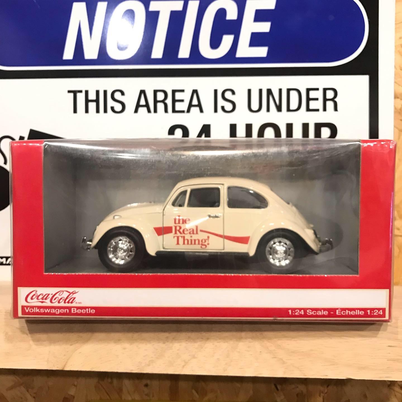 1:24 Coca-Cola VW Beetle Beige