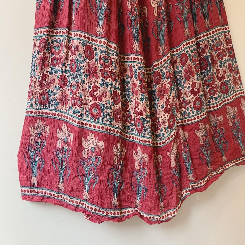 vintage Indian skirt