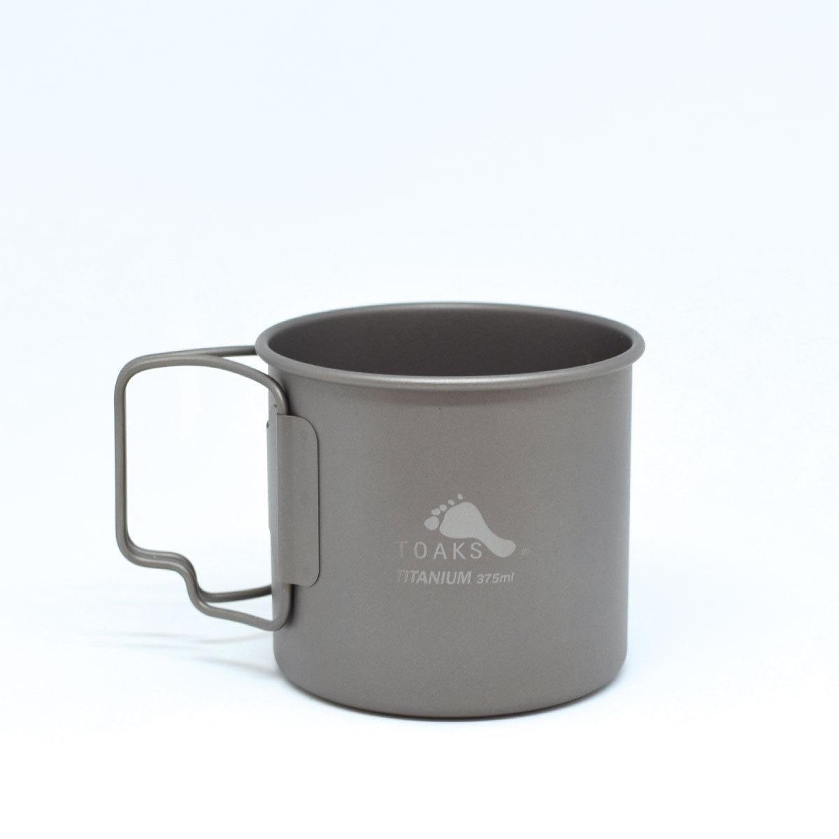 TOAKS(トークス)TITANIUM CUP 375ml チタニウムカップ