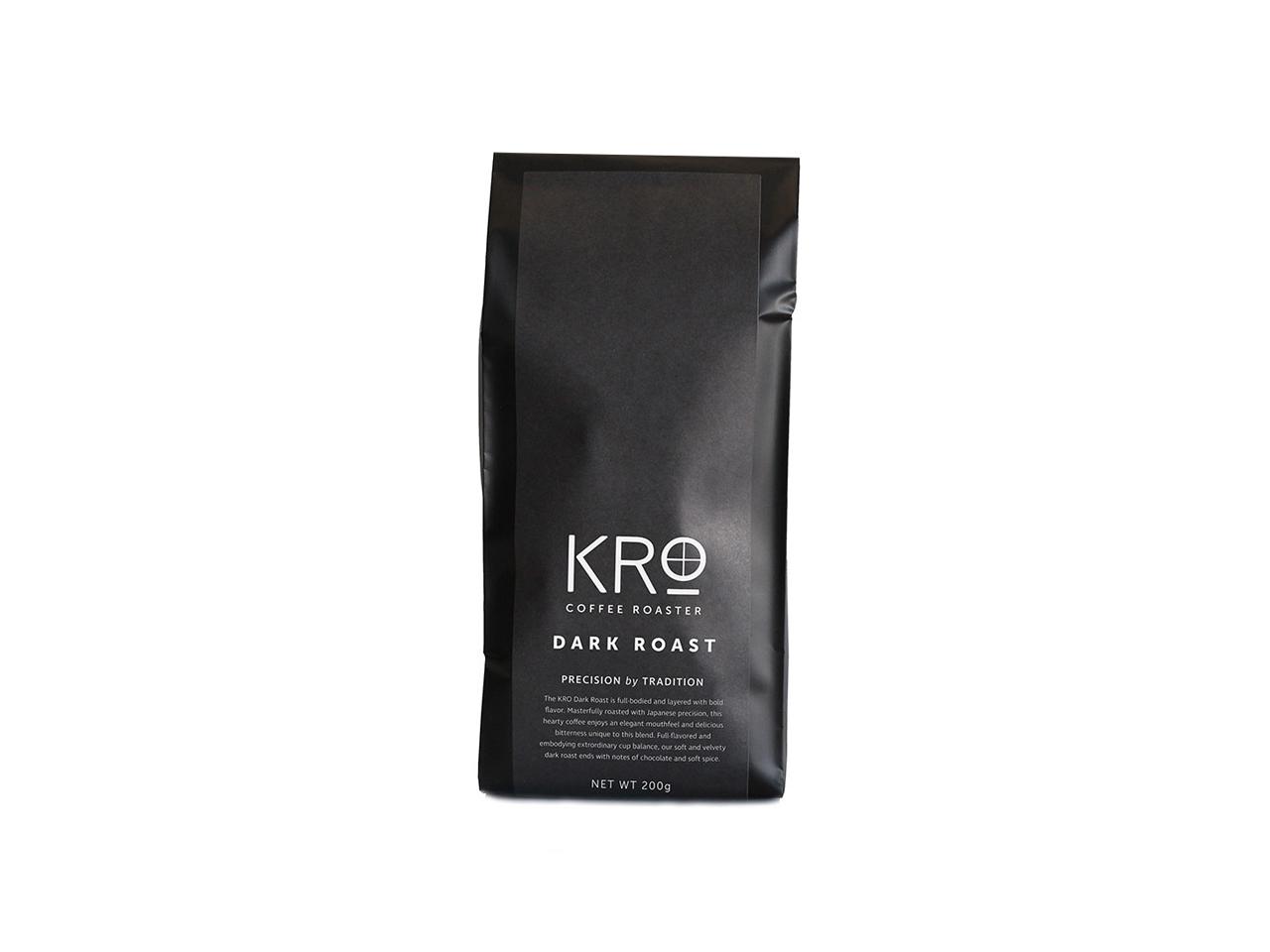 KROプレミアム ダークロースト コーヒー豆  200g