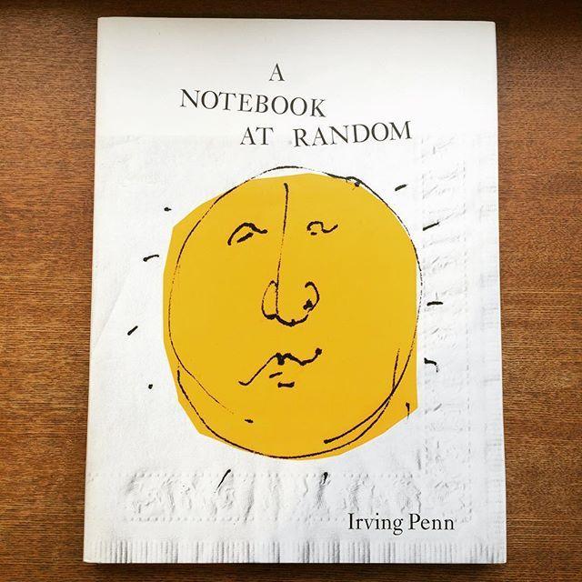 写真集「A Notebook at Random/Irving Penn」 - 画像1