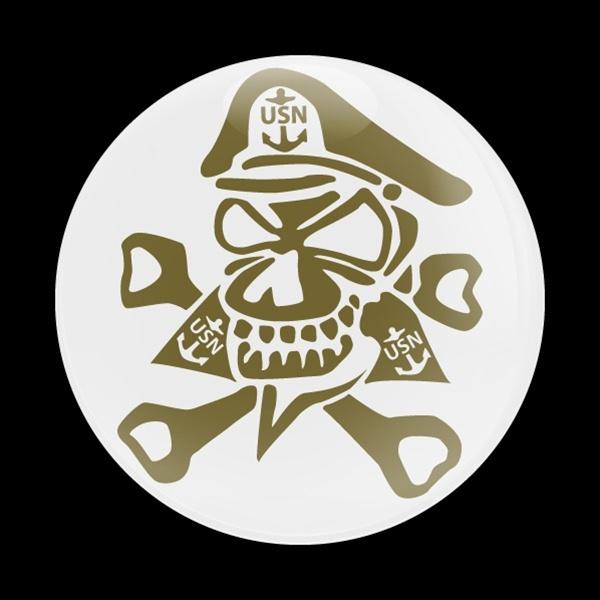 ゴーバッジ(ドーム)(CD0533 - USN Chief) - 画像1