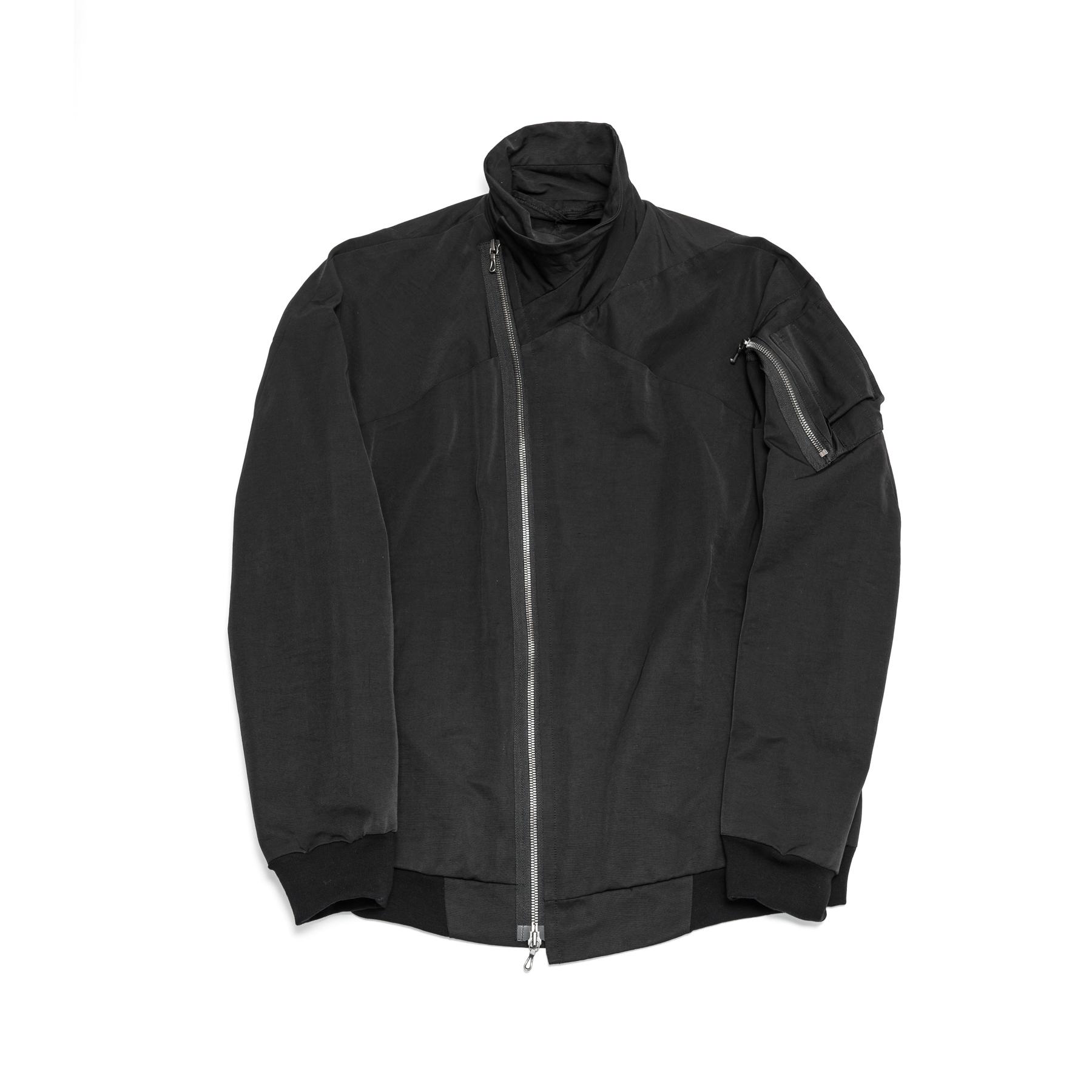 577BLM1-BLACK / ジャットネックボマージャケット