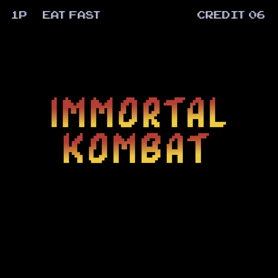 EAT FAST / Immortal Kombat (300 12inch EP)