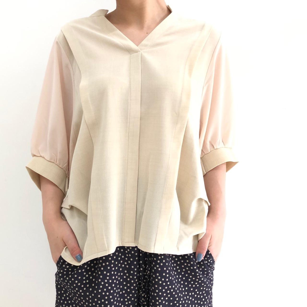 【 ROSIEE 】- 312701 - スキッパーシャツ
